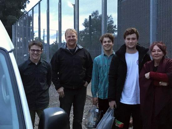 St James College visit Detention Centre