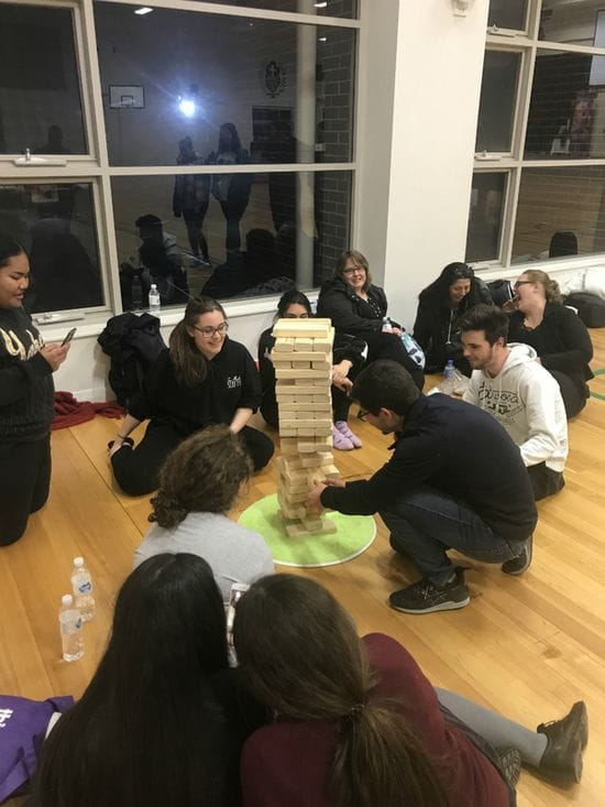 Casimir College participate in Vinnies Sleep Out