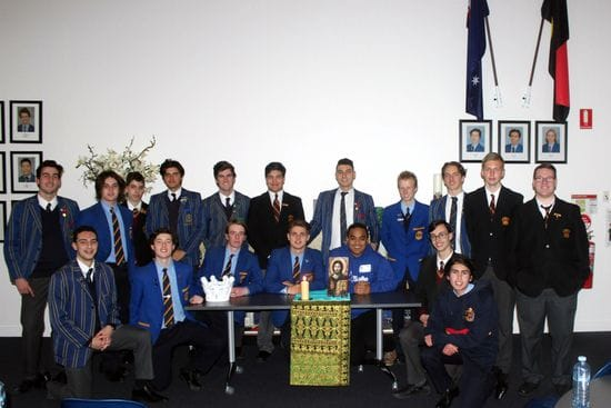 Young Lasallians evening at St Bede's College, Mentone
