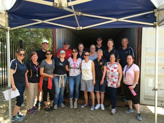 Container packing begins at DLS Caringbah