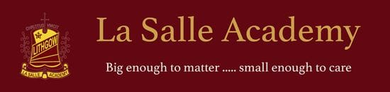 REC Opportunity at La Salle Academy Lithgow