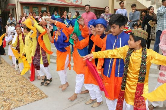La Salle High School Faisalabad celebrate Spring Festival