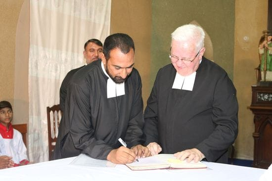 Perpetual Profession of Br Waseem Shamoun