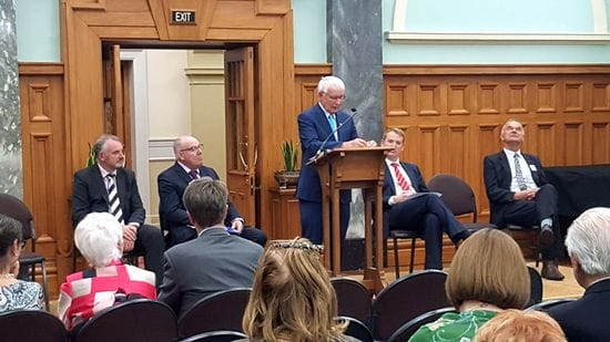 Wellington Launch of Sir Brother Patrick Lynch's Memoirs