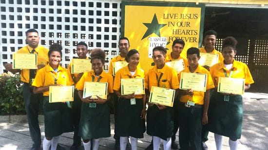 Lasallian Youth Leaders in PNG