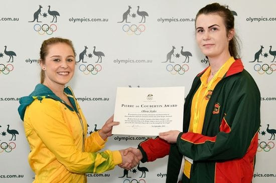 Olympic award for Middle Swan student