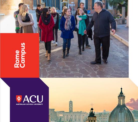 The Australian Catholic University's stunning Rome Campus