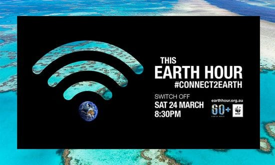 Earth Hour 2019 - 30 March 2019