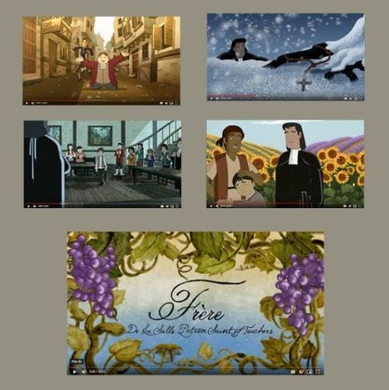 Resource: Movie-length cartoon about the life of Saint John Baptist de La Salle