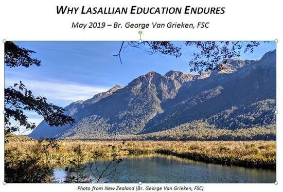 """Lasallian Reflection - """"Why Lasallian Education Endures"""""""