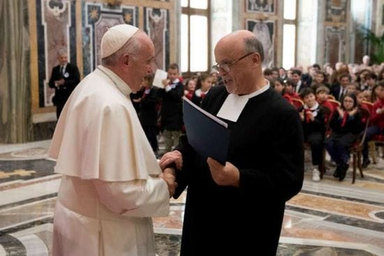 Pope Francis urges De La Salle Brothers to bring renewed hope to Catholic schools