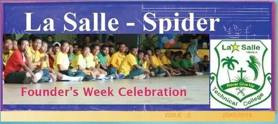 La Salle Spider Newsletter