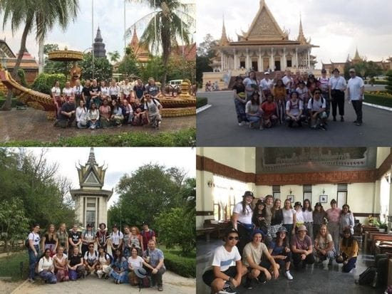 JOHN PAUL COLLEGE - CAMBODIA SERVICE TRIP 2019