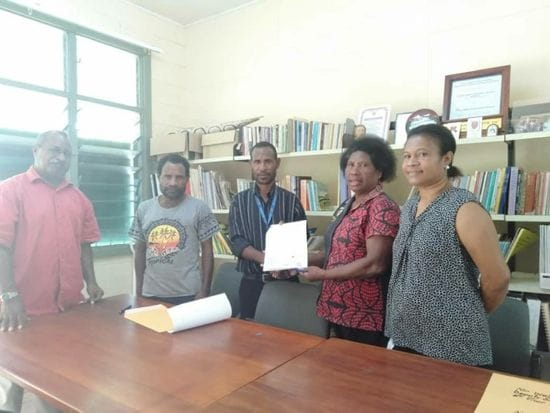 SCHOOL FEE ASSISTANCE PAID FOR GOILALA STUDENTS AT BOMANA SHTC