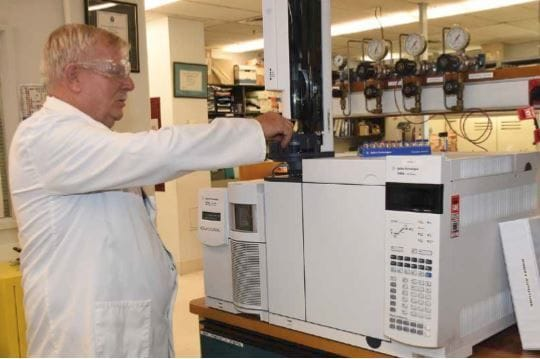 Former DLS Malvern Student: Forensic expert at the top of his game