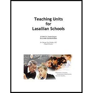 Resource: Teaching Units for Lasallian Schools