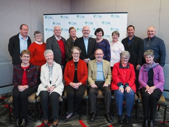 New CRA President and Council Members Elected
