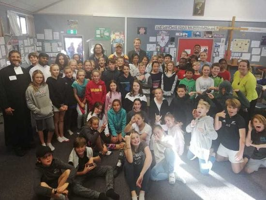 Pakistani Brothers visit New Zealand Schools