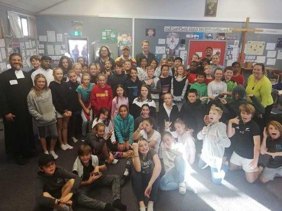 Pakistani Brothers visit New Zealand Schools