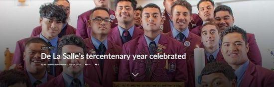 De La Salle's tercentenary year celebrated