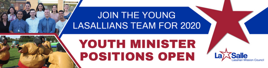 Youth Minister Positions Open 2020