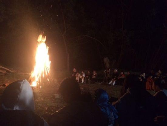 Lasallian Sisters coordinate Youth Camping Trip
