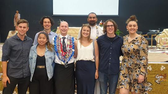 Lasallian Volunteer joins Student Sacramental Program , De La Salle Mangere