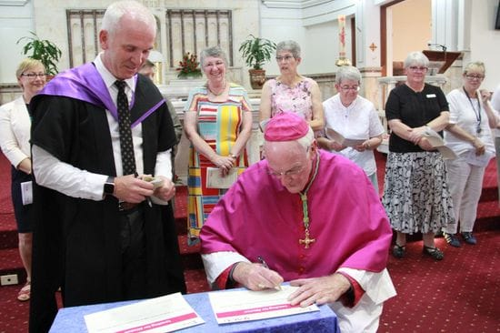 ACU launches ground-breaking faith formation partnership with the Diocese of Maitland-Newcastle
