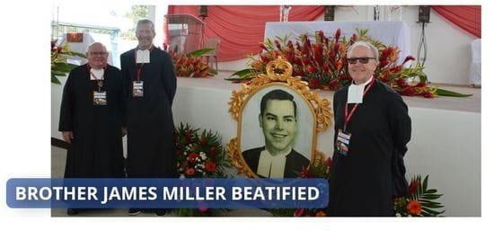 Brother James Miller Beatified