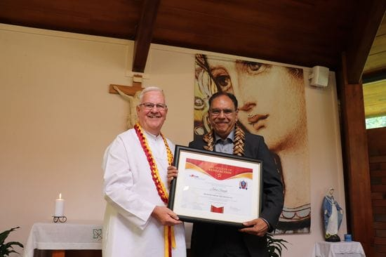 Exemplary Lasallian John Singh rewarded for his 45 years of service