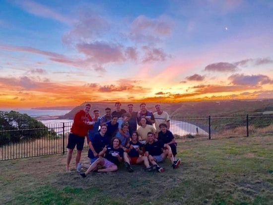St Bede's School Leaders Gather At Phillip Island