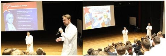 'Great things are possible'... James Sheahan Orange students in conversation with Br Arian and Br Lewis