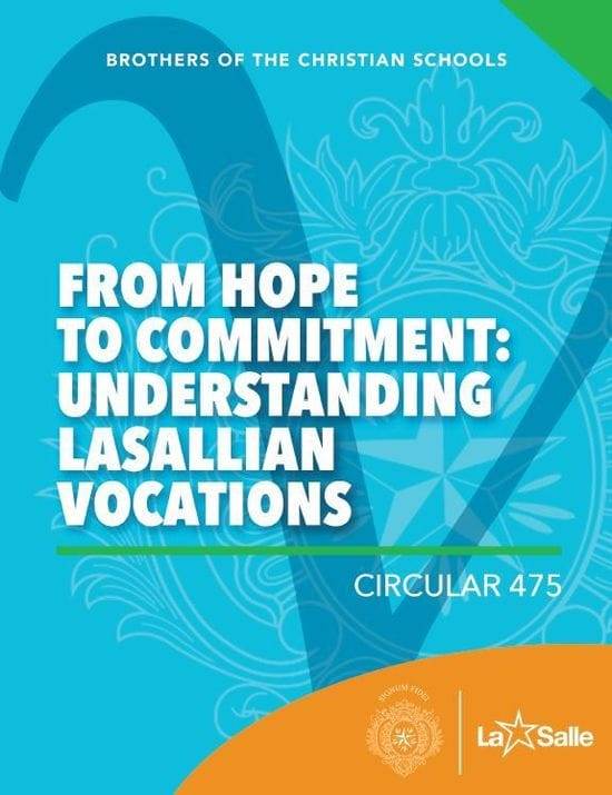 From Hope to Commitment: Understanding Lasallian Vocation