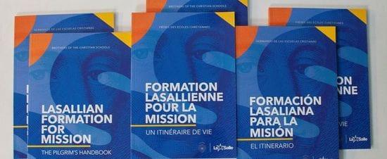 Lasallian Formation has now a new Pilgrim's Handbook