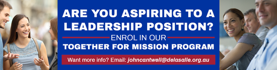 Attention! People in or aspiring to leadership positions! Together For Mission applications open!
