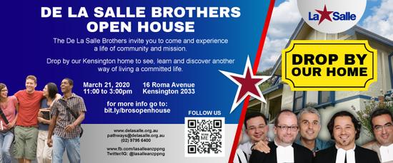 The De La Salle Brothers Open House - Parmenie Community