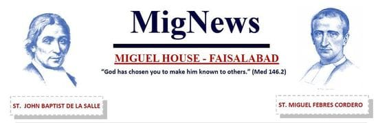 News from Miguel House