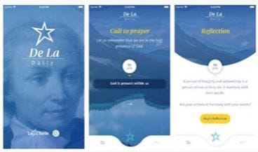 Lasallian spirit inspires daily prayer app