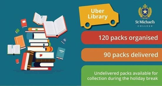St Michael's Adelaide introduces Uber Library