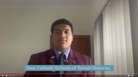 DLS Mangere Student working with NZ Catholic Schools during COVID-19
