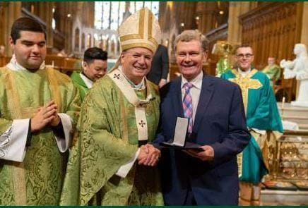 QUEEN HONOURS CATHOLICS FOR SERVICE: MIKE BAILEY 'OLD BOY' RECEIVES OAM: CONGRATULATIONS