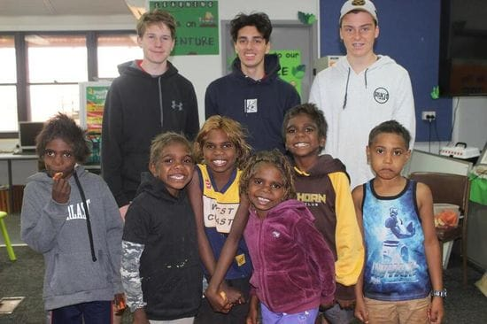 St James College organise clothing drive for Balgo