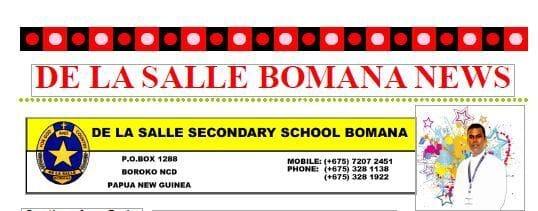 DE LA SALLE BOMANA NEWS