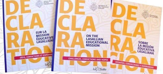 DECLARATION ON THE LASALLIAN EDUCATIONAL MISSION