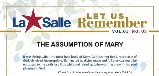 Resource: Let us Remember Reflection - The Assumption of Mary