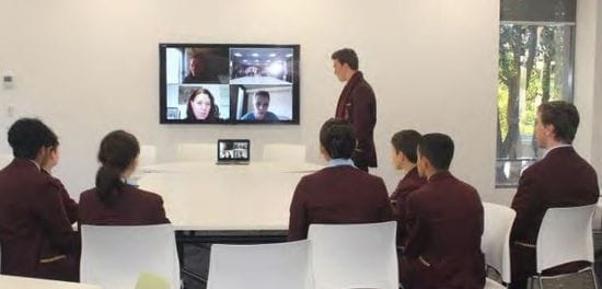 Oakhill College participant in UNICEF Australia's Young Ambassador online consultations