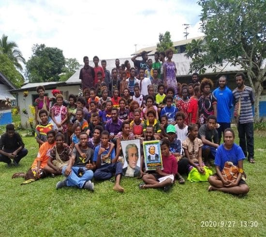 PNG Lasallian Leaders inspire the youth in East Sepik