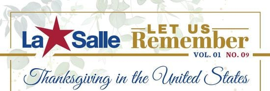 Resource: Let Us Remember - Thanksgiving