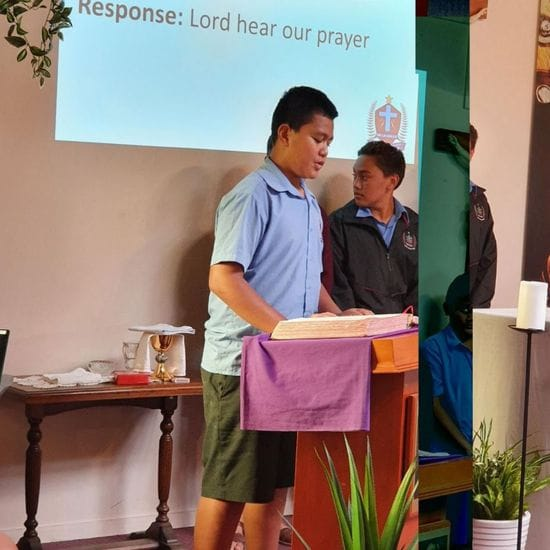 Lunchtime Mass introduced at DLS Mangere