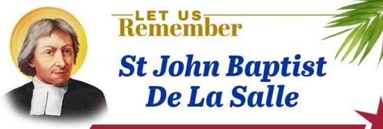 Resource: Let Us Remember - St John Baptist de La Salle